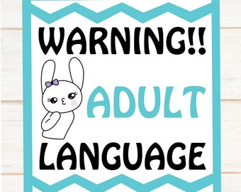 Adult Language --- Today I'm wearing a lovely shade of **** you planner stickers  --- 383