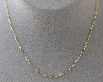 """16"""" Gold Chain - Gold Filled Chain - 14k Gold Chain - Gold Chain - Simple Gold Chain - Extra Chain - Everyday Necklace - Gold Jewelry - Gift"""