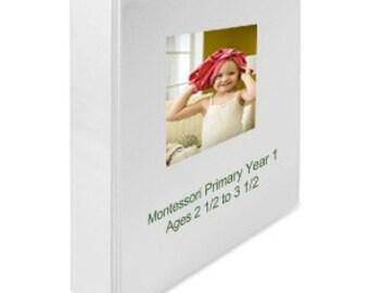 Montessori Teaching Album Homeschool Curriculum for PreK