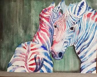 American zebras