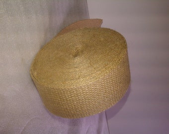 "2"" Inch Natural Jute Webbing 10 Yard Roll"