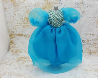 Dawn Doll Party Puffery 712 Blue gown fashion Outfit 6.5 inch dolls Topper Dawn Angie Glori Jessica