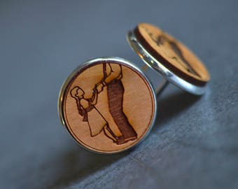 father of the bride gift cuff links, first father daughter dance