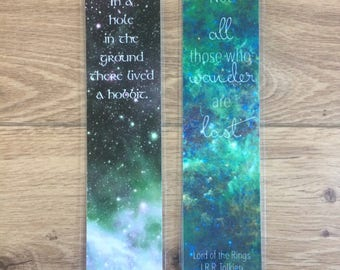Lord of the Rings Hobbit Bookmarks J.R.R. Tolkien