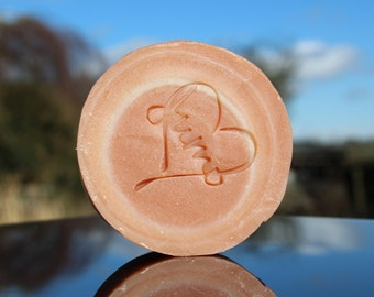 French clay natural soap puck
