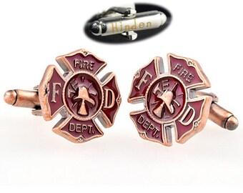 Greatest Fireman cufflinks | Etsy BT23