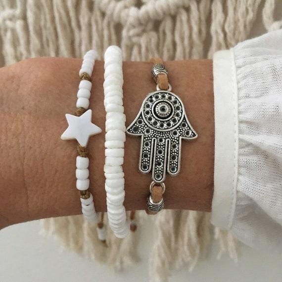 boho bracelet, bohemian jewelry, beach gypsy