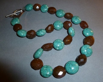 Brown Sugar and Turquoise