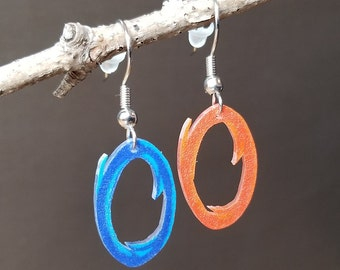 Portals - Shrinky Dink Earrings