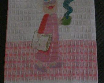 Happy Mother's Day Tea Towel