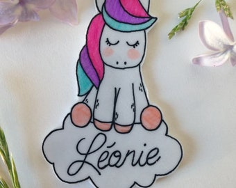 Unicorn pin with custom