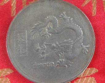Chinese Dragon Dharma Coin