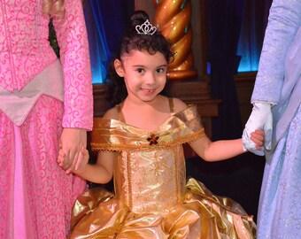 Belle Dress, Princess Belle inspired Dress, Beauty and the Beast inspired, Belle costume, Deluxe belle