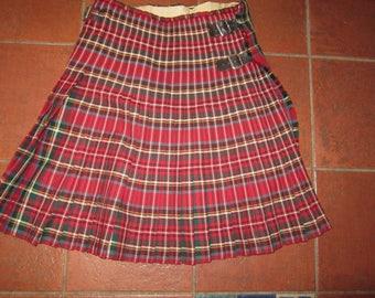 SALE  authentic vintage kilt highlander scottish winter weight wool kilt hugh Macpherson kilt
