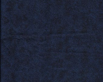 New Navy Blue Texture 100% cotton fabric by the Quarter yard