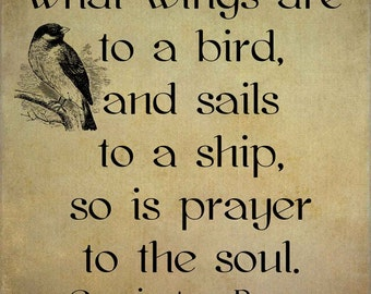 Corrie Ten Boom - Quote - Prayer - Transfer on Canvas - FREE shipping in the US