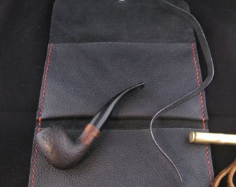 Pipe and Tabacco Pouch