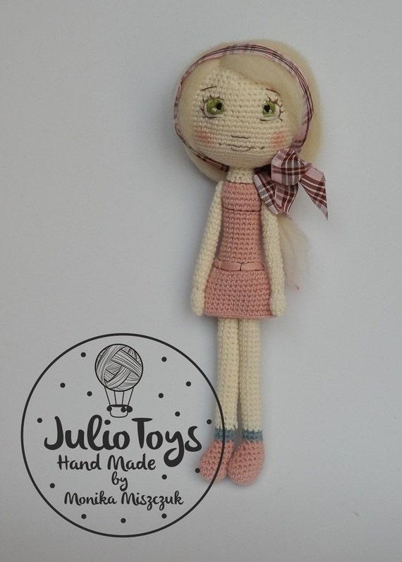 Atractivo Patrones De Crochet La Muñeca De La Cama Foto - Ideas de ...
