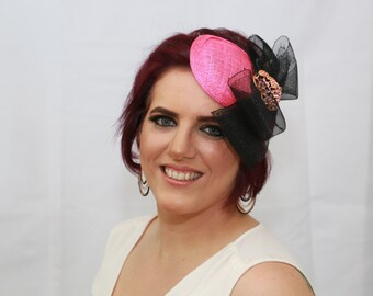 Pink Fascinator and Crinoline