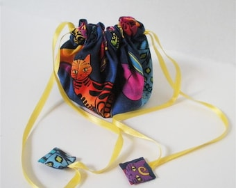 Jewel Cats Posy Pouch