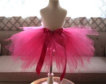 Hot Pink Tutu - Fuchsia Tutu - Toddler Tutu