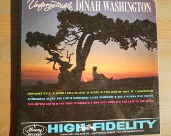 Dinah Washington - Unforgettable - vinyl record