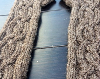 The best cable knit fingerless arm warmers ever!!!