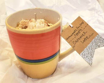 Caramel Latte Soy Wax Candle