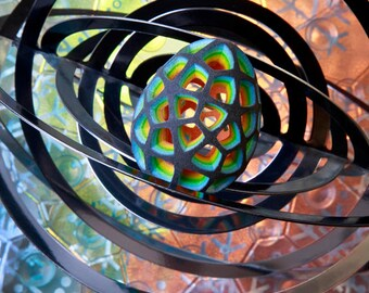 LIGHT WIZARD - Connect - Photo Print - Artwork - Visionary Art - Fine Art - Photographic - Original - Spiritual - Psy - Art