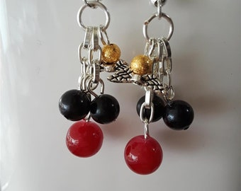 Harry Potter Quidditch Ball Cluster Earrings