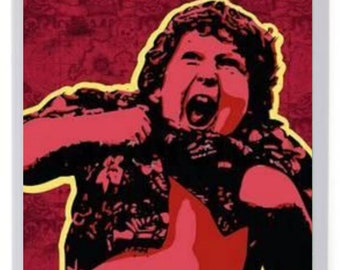 The Goonies Truffle Shuffle Fridge Magnet. Pop Art