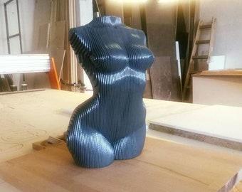 Woman Body Statue Home Accessory Decor