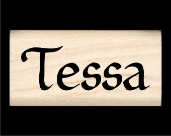Tessa - Name Rubber Stamp for Kids