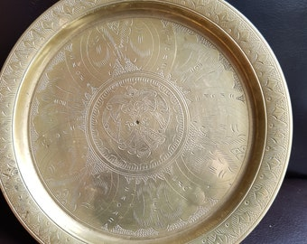 Antique Brass Tray/Dish