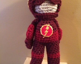 Made to Order The Flash Inspired Amigurumi Doll