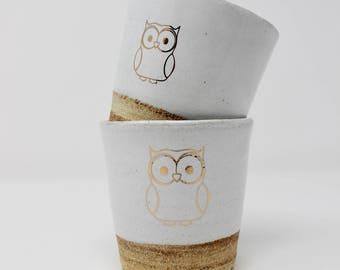 Cup,Ceramic Cup,Tumbler,Ceramic Tumbler,Owl,Owl Cup,Kids Cup,Juice Cup,Drinkware,Decorative Owl Cup,Ceramic Mug,Tea Mug,Gift Mug,Teacup
