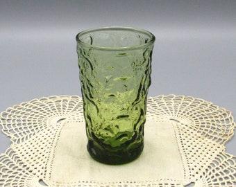 Anchor Hocking Juice Glass, Avocado Green Juice Glass, Lido Milano Glass, Replacement Glassware