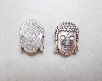 1 Pearl bandwidth Buddha silver metal color