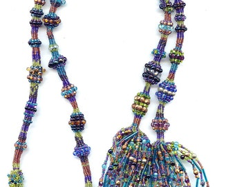 Caged Ndebele Lariat  Kit