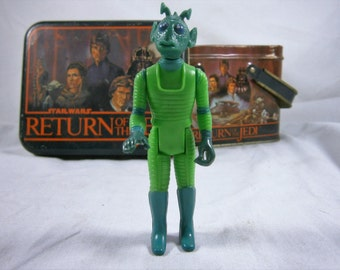 SALE  Star Wars Action Figure, Greedo Bounty Hunter, Kenner 1978, G.M.F.G.I, Hong Kong  WAS 20.00