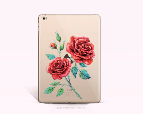 iPad 2 Case Roses iPad mini 4 Case Rubber iPad Air 2 Case Modern Gold Rose iPhone Case Rubber iPad Mini 2 Case CLEAR iPad Mini 4 Case