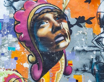 Paris Graffiti Street Art Urban Art Paris Street Art Paris Graffiti Art Urban Graffiti Wall Decor Urban Decor Wall Art Home Decor
