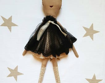 "Ginette Vienna. ""Les Ginettes"" rag doll. A Rag Dolls Collection"