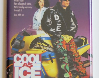 Cool As Ice Movie Poster Fridge Magnet