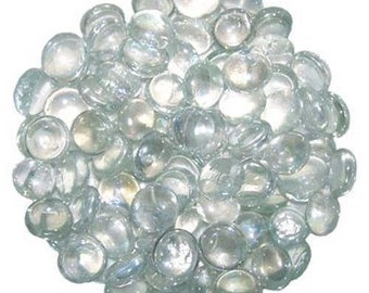 Clear Glass Pebbles Home Vases Wedding