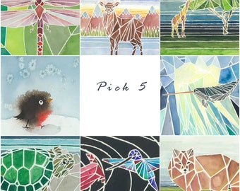 Greeting Cards - Pick 5