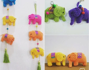Amigurumi Pattern Little Elephant in PDF