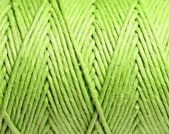 5 Metters - 1.2 mm lime green hemp twine cord - 4558550083869