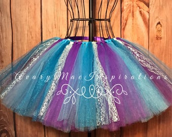 Adult Little Mermaid Tulle Skirt-Little  Mermaid Tulle Tutu- Tulle Tutu-Will Custom Make- Will Make any Size, Just send a Custom Request