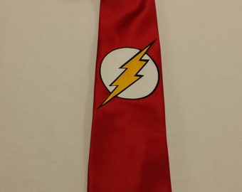 The Flash Mens NeckTie